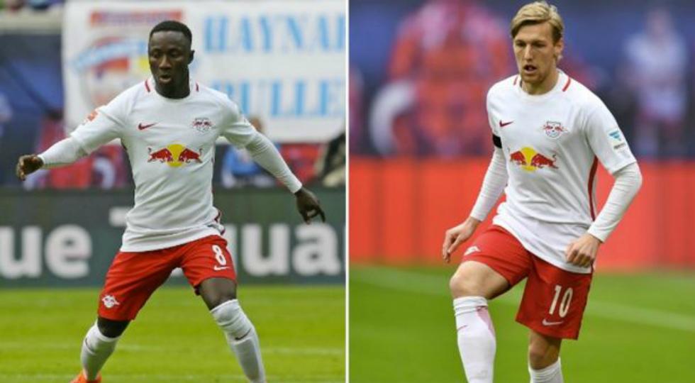 Naby Keita dan Emil Forsberg